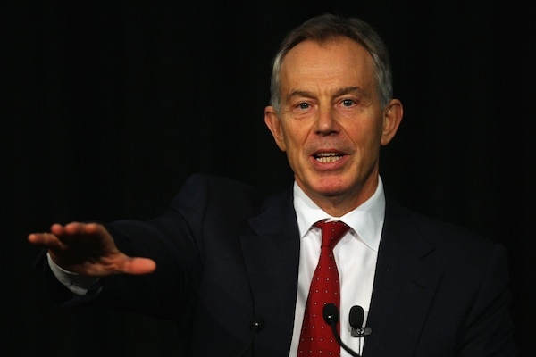 Tony Blair Continues Speaking Tour In Auckland