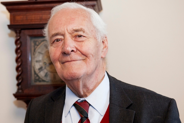 Author and politician Tony Benn, who has passed away today. Photo: Getty Images.