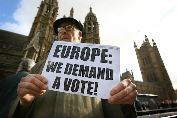 The all-party parliamentary group for an EU referendum has already attracted 50 members. Picture: Getty