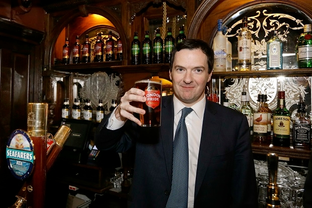 George Osborne needs to develop policies that encourage conservative behaviour - and votes for the Conservatives.
