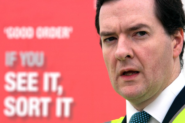 It looks ever more likely that George Osborne will miss his debt target. Picture: Getty.