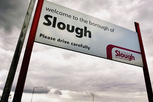 White Britons are now a minority in Slough, Luton and Leicester Image: Getty