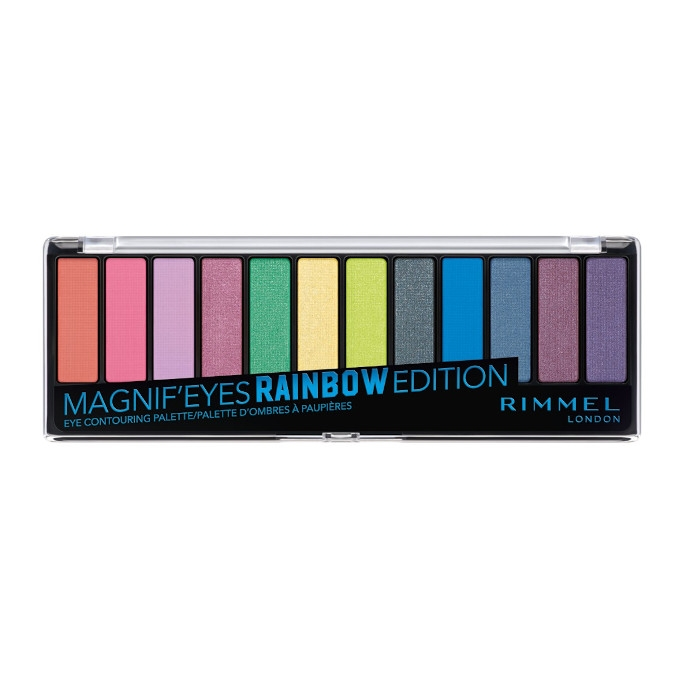 Palette Magnif'Eyes Shadow - Rainbow Edition - Navigation