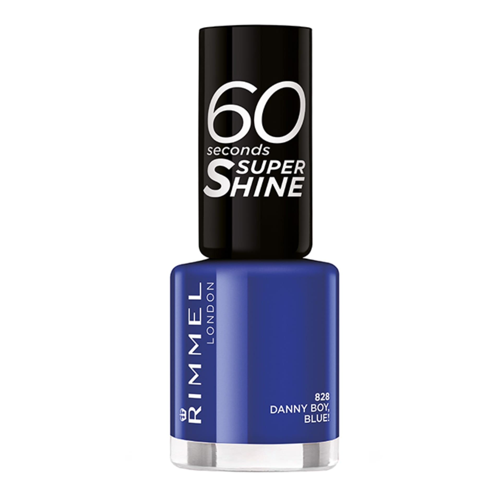 60 Seconds Super Shine | Shiny Nail Polish | Rimmel London