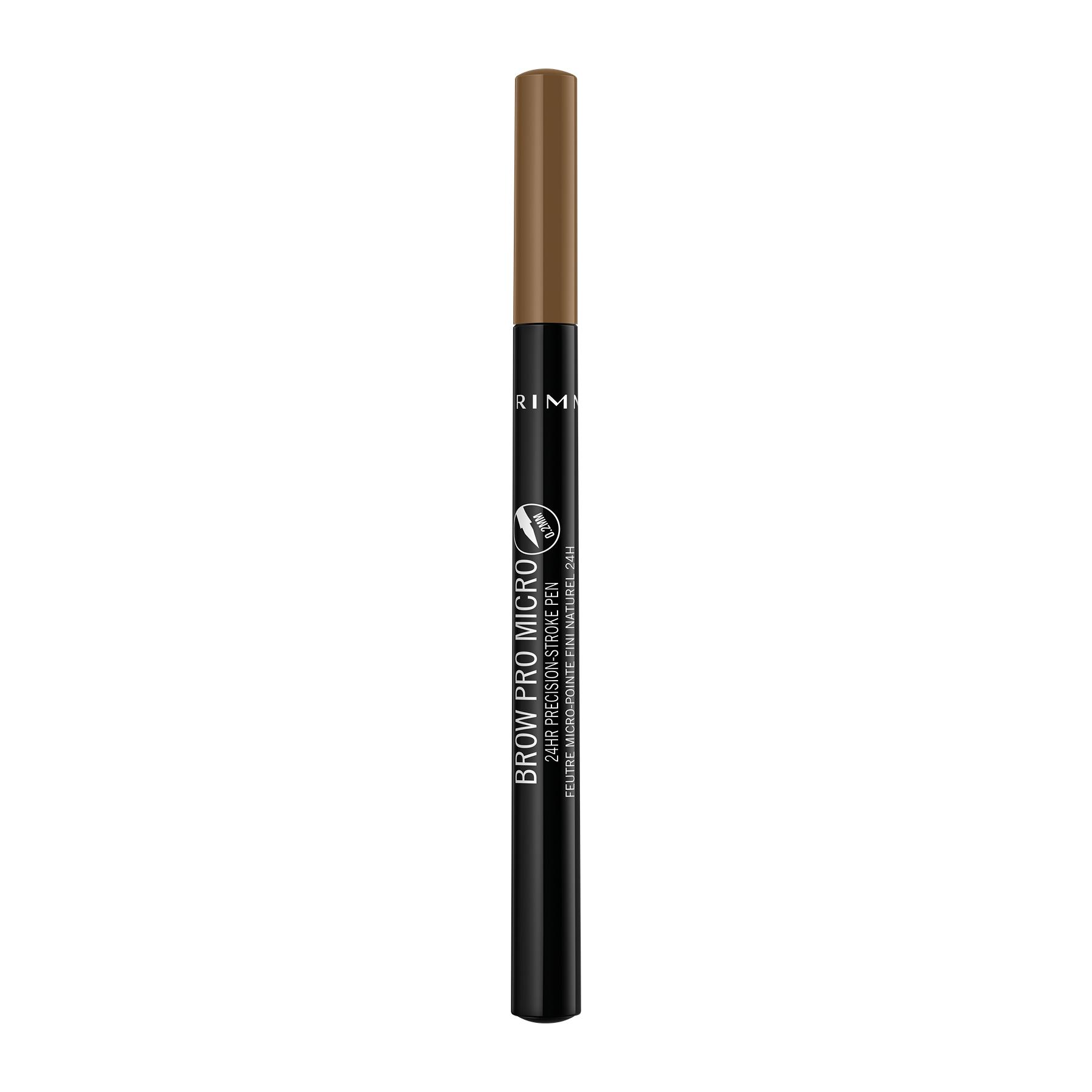 Rimmel London Brow Pro Micro 24HR Precision Stroke Pen in Blonde
