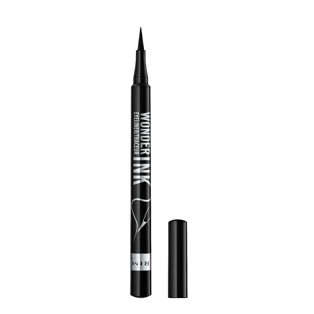 Rimmel London Wonder'Ink Ultimate Liner in Black with lid off