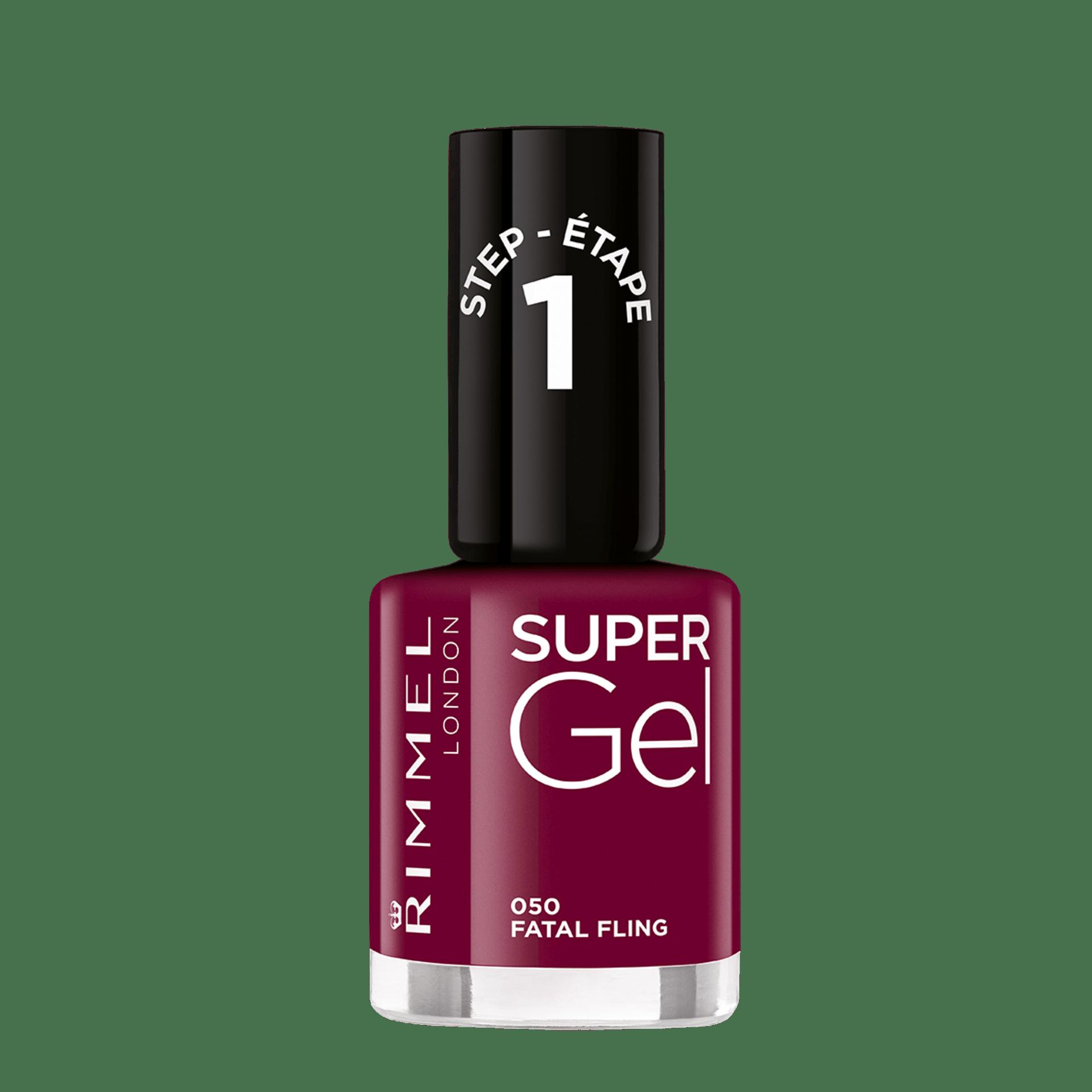 Super Gel Gel Nail Polish Effect Rimmel London Rimmel
