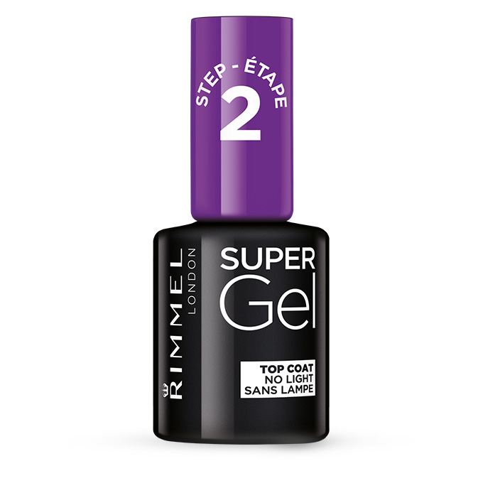 Super Gel Top Coat - Navigation