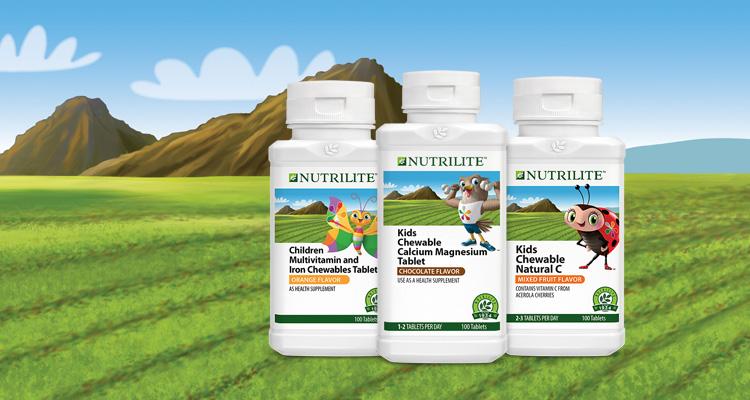Children chewable supplements