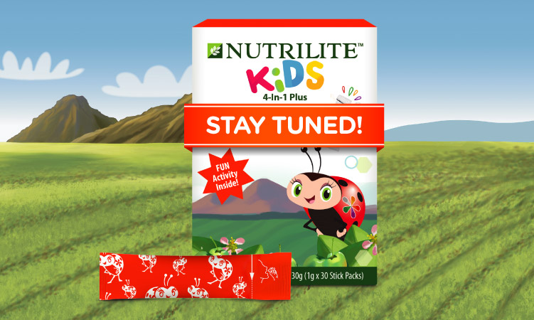 Nutrilite Kids 4-in-1 Plus supplement coming soon e