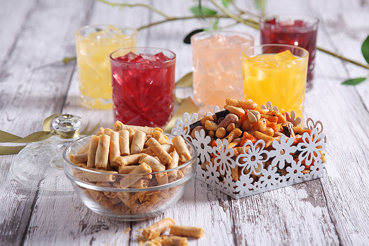 Get snacks and drinks from Amway