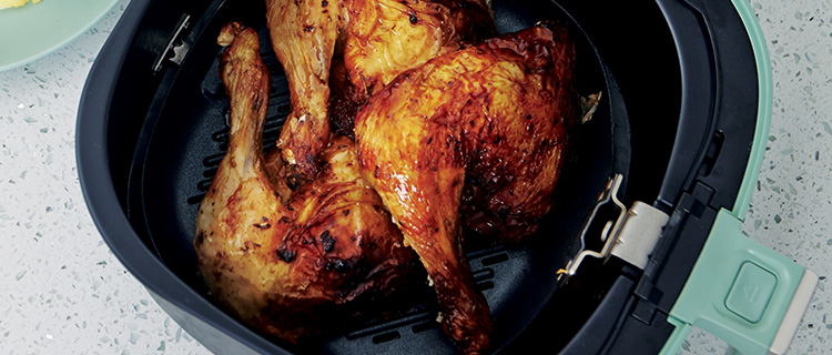 Grill chicken pan