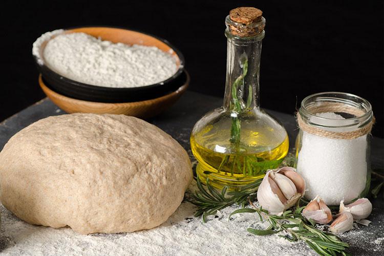 Ingredients to make Garlic and Rosemary Focaccia.jpg