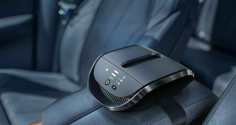 Breathe clean air in your car with the Atmosphere DRIVE
