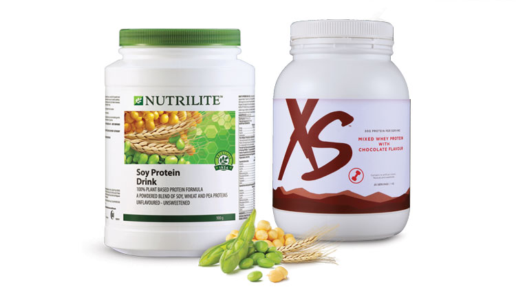 Soy Protein Drink and XS Mixed Whey Protein with Chocolate Flavour.jpg