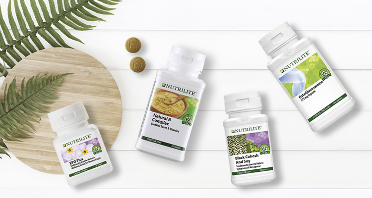 Choose Nutrilite to supplement your life well