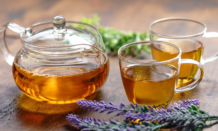 Tea to relax the body
