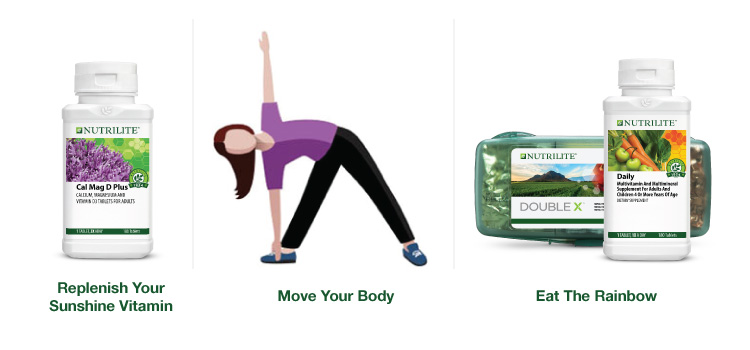 Exercise and take your supplements