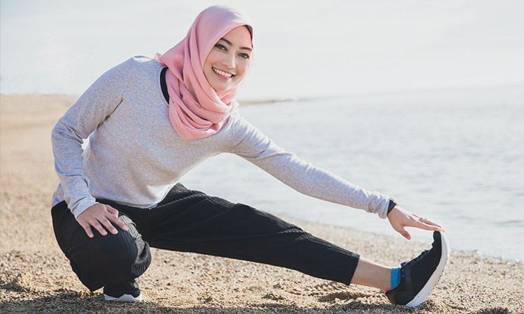 Exercise and get your stretches done