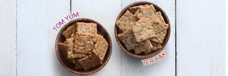 Teriyaki and Tom Yum flavours