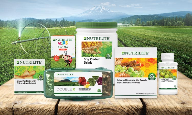 Nutrilite wind Gold Award in the Vitamins or Health Supplements category
