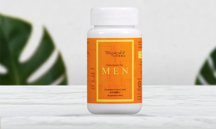 Tropical Herbs Formulation for Men