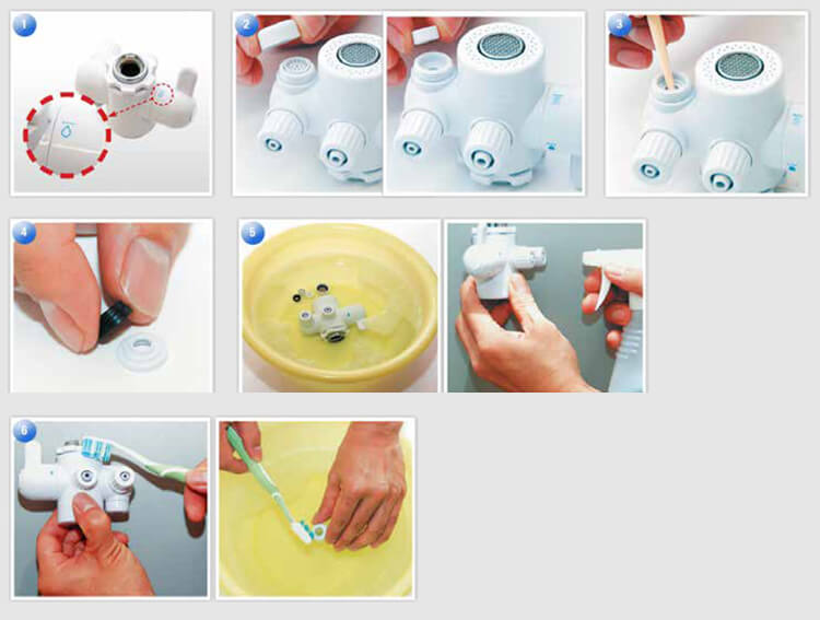 Keep your eSpring tap clean