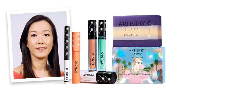 ARTISTRY Studio LA Edition makeup