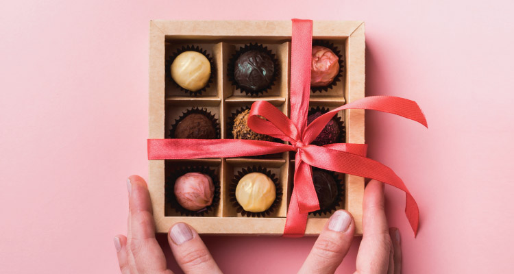 Give your mum chocolates for Mothers Day