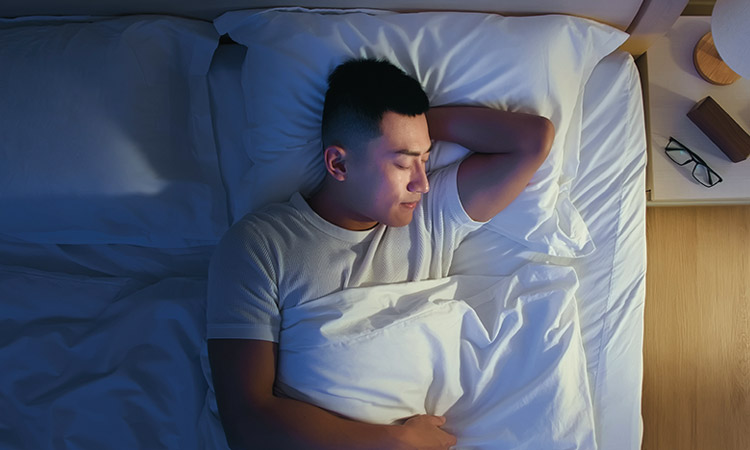 Get enough sleep for better days