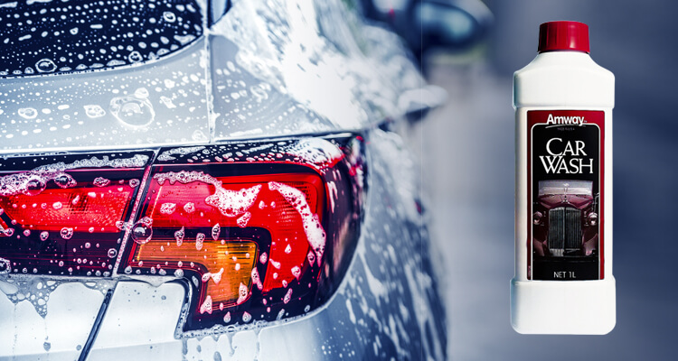 wash away with amway car wash