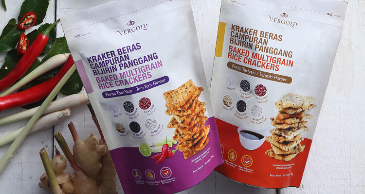 Vergold Baked Multigrain Rice Crackers