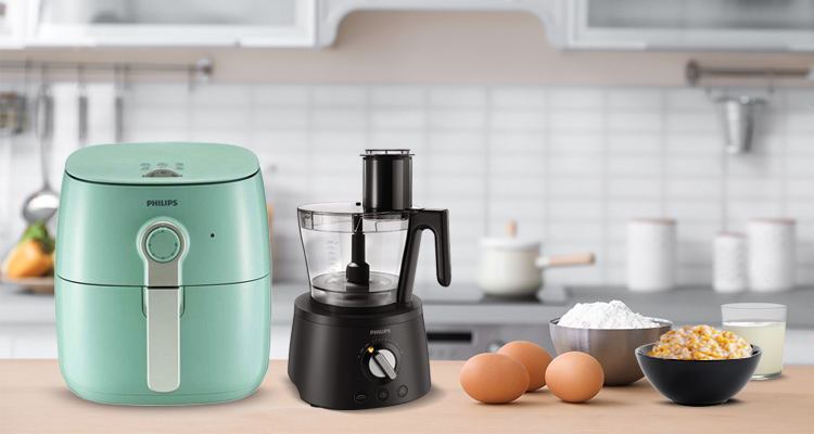 Philips Food Processor 7000 Series and Airfryer