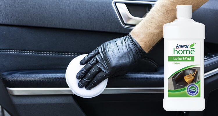 Maintain your leather interiors in top condition with the Amway Home Leather & Vinyl Cleaner
