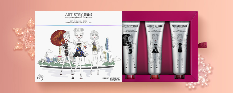 Shanghai Edition Soft As Silk Hand Cream holiday 2020