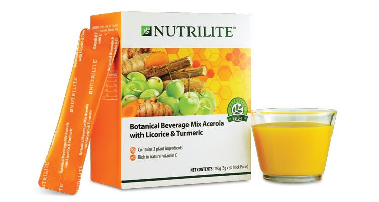 Botanical Beverage Mix Acerola with Licorice & Turmeric