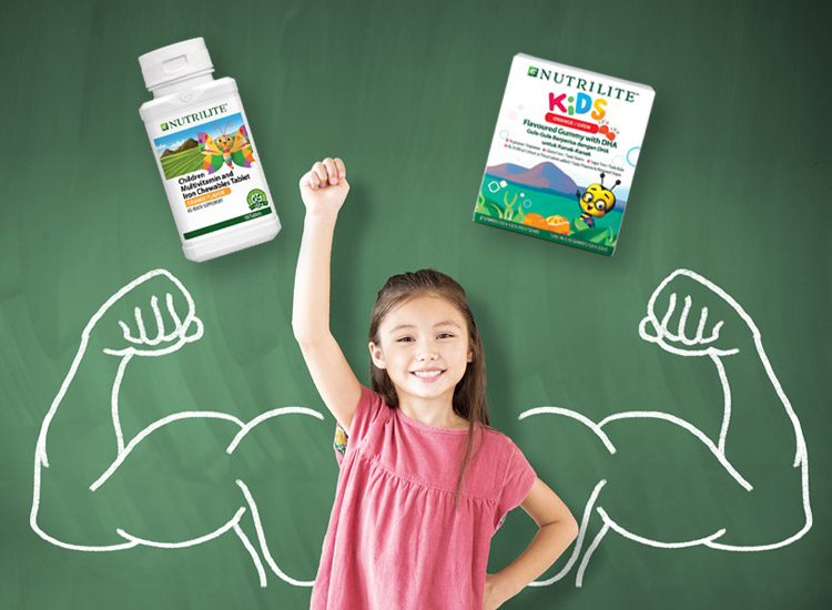 Nutrilite has supplements for women of all ages 1