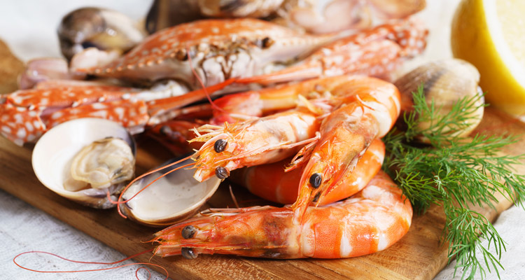 Prep your seafood ingredients for the shellout recipe