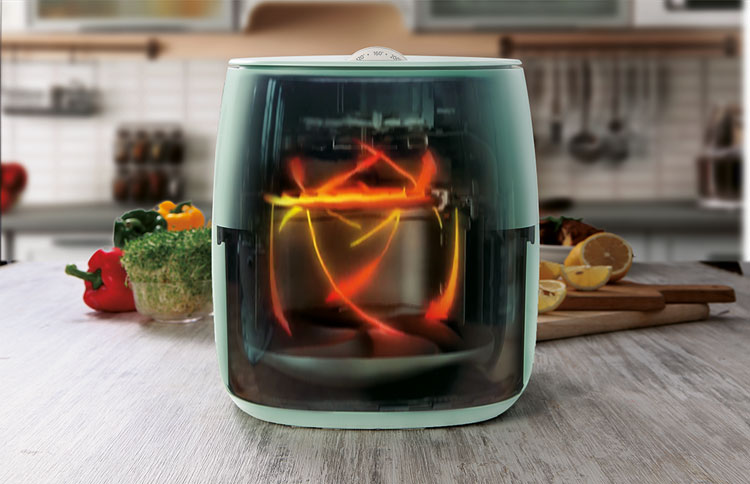 Philips Airfryer uses the Rapid Air technology.jpg