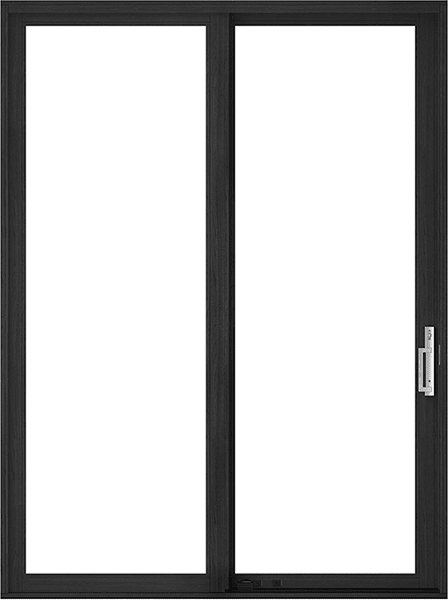 reserve contemporary sliding door with no background