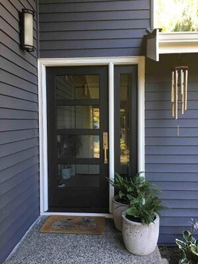 Contemporary Modern Entry Doors Pella