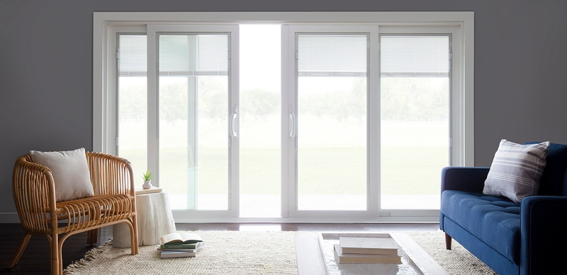pella 250 series sliding doors four panel