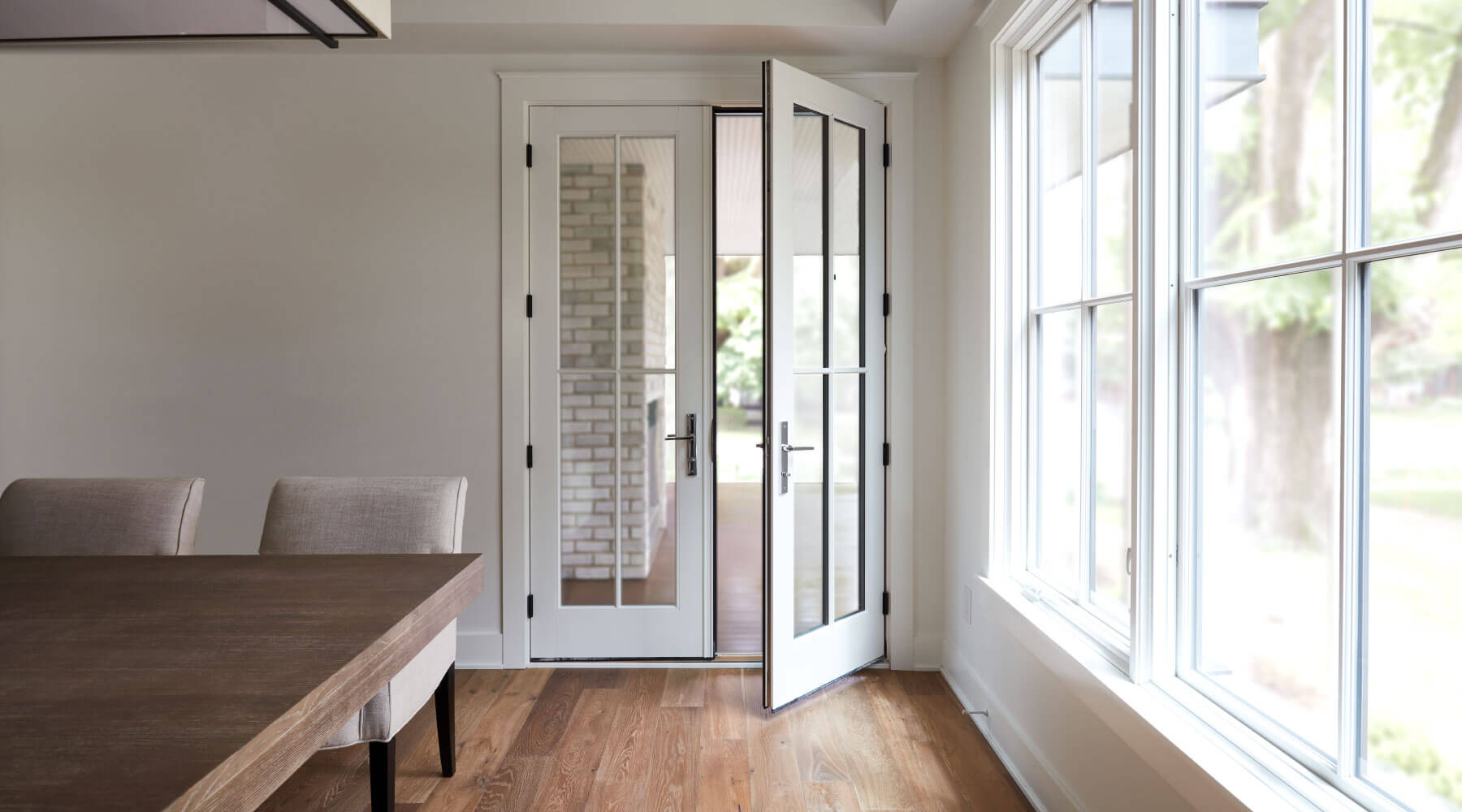 white-wood-french-doors