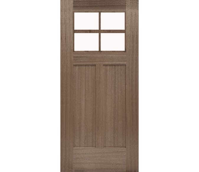 craftsman light shaker wood entry door with glass