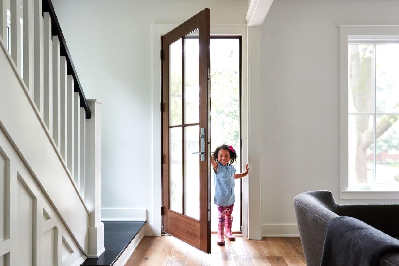 Wood Entry Doors Pella