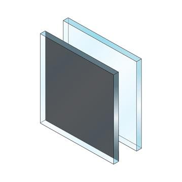 spandrel glass rendering