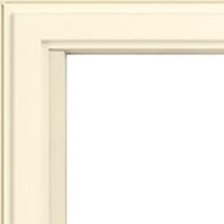 poplar white vinyl dual color color frames