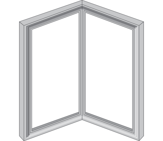 corner unit for reserve traditional