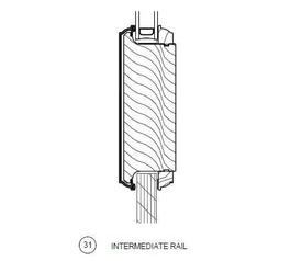 typical door intermediate rail - harlem