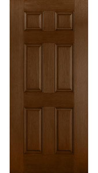solid fiberglass entry door